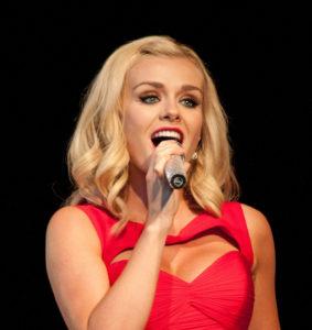 The popular singer Kathrine Jenkins