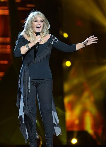 The singer Bonnie Tyler