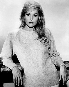 The Actress Ursula Andress stared in the James Bond movies