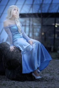 Else from Frozen is a Populary Girl's Costume