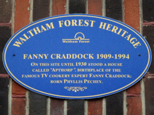 Fanny Cradock a Famous English Cook