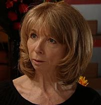 Gail from the Soap Coronation Street